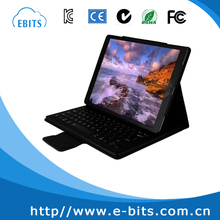 """Magnetically Detachable Hidden Wireless Bluetooth Keyboard Muti-angle Folio PU Leather Case Smart Cover For iPad Pro 12.9"""" 2015"""