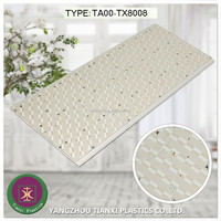 Transfer printing PVC ceiling panels, plastic wall with star pattern, china factory prices for good building materials