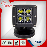 "16w square 3"" led motorcycle headlight"