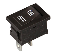 CE, VDE, CQC, 6A 250V Red Black White momentary rocker switch on off on for automation devices