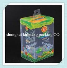 Wholesale PP plastic milk bottle packaging foldable printed baby bottle box