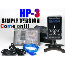Newest design hurricane hp-3 professional tattoo power supply