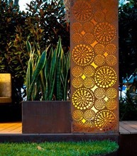 Foshan Factory Laser Cutting Decorative Wall Panels in Metal