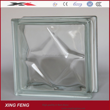 China manufacture best price 190*190*80mm glass brick
