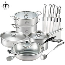 2015 new product stainless steel cookware set/kitchen accessories/kitchen utensil-DX-A08