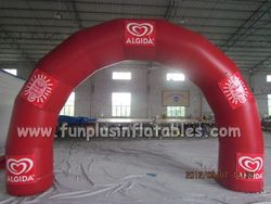 cheap hot customized inflatable finish line arch/inflatable advertising arch/inflatable arch rental P1015(2)