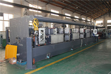Wire flattening machine