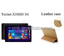 Teclast X10HD 3G Dual OS Quad Core 2.16GHz 10.1 inch Multi touch Cameras 64G ROM Bluetooth GPS Win8.1 & Android 4.4 Tablet pc