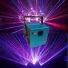 Stage lighting equipment multi color 5w rgb laser beam light