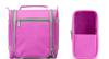 Manufacturer supply hanging travel storage bag,Polyester foldable toiletry bag,Fashion travelling cosmetic bag