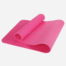 Customized eco friendly 4mm-10mm tpe closed cell yoga mat