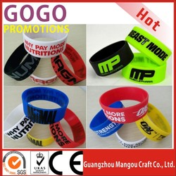 Promotional cheap wide wrist bands silicone, Factory direct cheap custom silicone wrist band/bracelet for Sports events