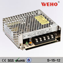 15w power supply 12v 1.25a dc dc switching power supply