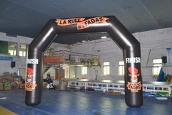 Best quality inflatable arch, advertising arch, inflatable archway with 0.6mm PVC tarpaulin, sealed