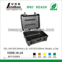 large plastic tool cases