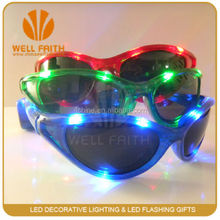 2015 tourist souvenir fashion LED sunglasses,China wholesales party favor funny LED sunglasses