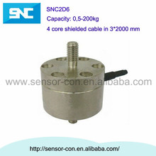 SNC2D6 mini button load cell 0.5kg, 1kg, 2kg, 5kg, 10kg, 20kg, 50kg, 100kg, 200kg Tension and compression load cell