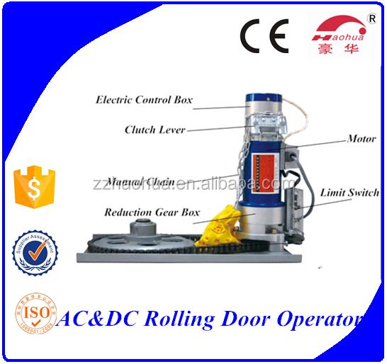 500kg backup battery dc24v 500kg rolling shutter door for Roller shutter motor price