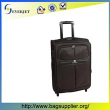 High quality waterproof nylon carry-on trollye luggage