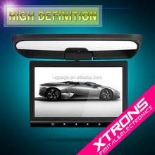 "Xtrons CR104 Black 10.1"" TFT screen hdmi input car monitor AUX IN DVD USB SD 32 bits games"