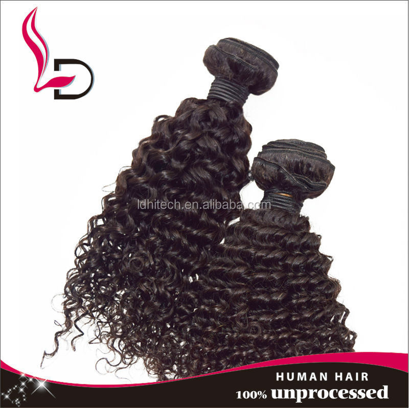 Jerry Curl Human Hair For Braiding 39