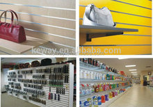 cell phone accessory slat wall display