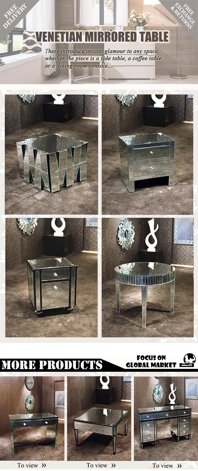Contempor Neo Espejo Veneciano Efecto Muebles Esquina Gabinetes  # Muebles Efecto Espejo