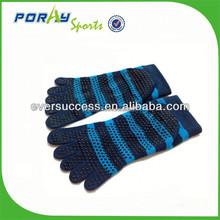 Hygienic alternative to bare foot yoga pilates socks