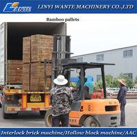 China Machinery QT10-15brick machine matched equipment from Linyi Wante Machinery Co.,Ltd