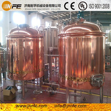 300L/500L restaurant beer brewing equipment/red copper brewery system