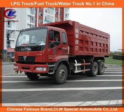 heavy duty FOTON dump truck 6x4 dump truck 40ton dump truck by FOTON brand