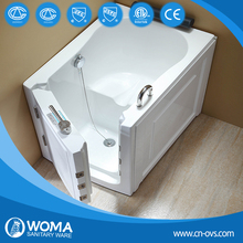 2014 Q376 bathtub square bathtub elderly walk in bathtub