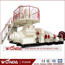 2015 Automatic clay brick making machine For India