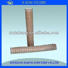 algodão corda ferida cartucho de filtro