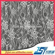 italiano de laço de tecido branco bonito de flores de tecido para vestidos de noiva