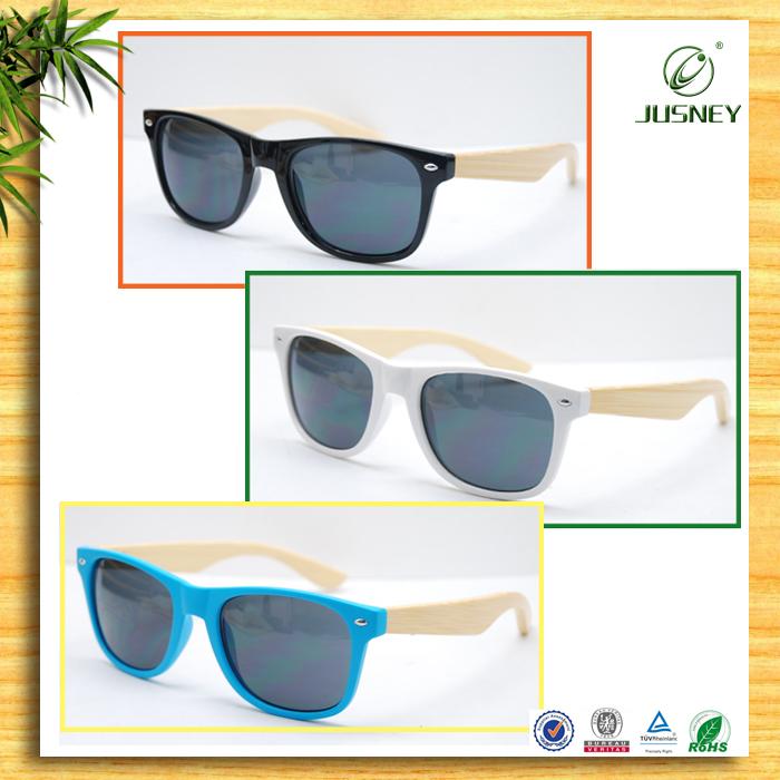 fashionable wood eyewear for ladies/wooden sunglasses/bamboo wayfarer sun glasses