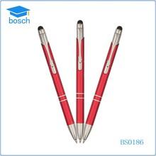 custom logo magnetic ballpoint pen & touch pen