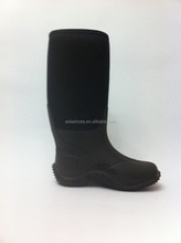 Men's black Leather Hiking Trail Boots