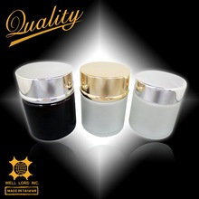 Premium quality best gift set luxury manufacture small round glass jar