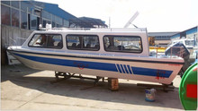 cheap price fiberglass motor cabin cruiser power boat for sale