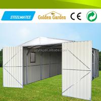 easy install metal garden garden shed