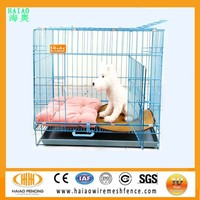 Factory Direct Sale Doggie Solutions Folding Dog Cage,dog crate wholesale