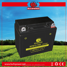 12V 7ah two wheeler gel motorcycle/motor battery