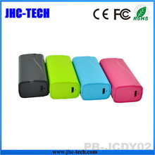 Popular Paypal Accepted Novelties 2015 ABS Material 2600mah ce fc rohs Power Bank for Mobile Phone