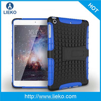 tpu and pc combo case with stand for ipad mini 2 & for ipad cover