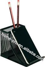 METAL MESH DESK ORGANIZER STATIONERY HOLDER PEN CUP PHONE HOLDER