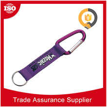 Free sample available Safety Carabiner Durable Metal metal carabiner with key ring
