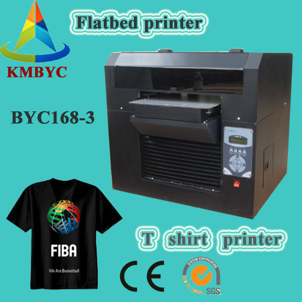 3d t shirt printer a3 size t shirt logo printing machine for Cheapest t shirt printing machine