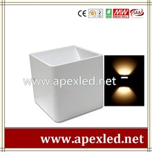 cube style indoor led wall lamp led wall lighting