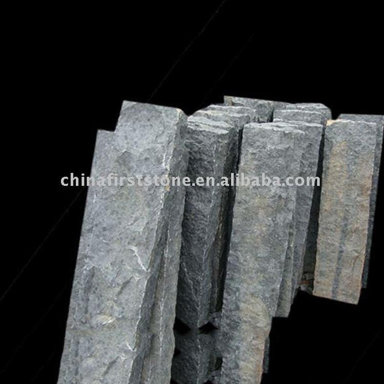 Черный базальт лестницы Материал GCPG765